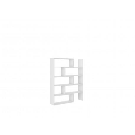 Regał Karol - 1 Biały