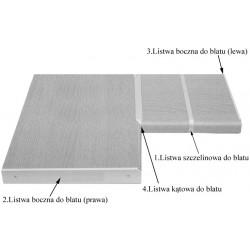 Listwa boczna zakończeniowa do blatów 28mm prawa (2)